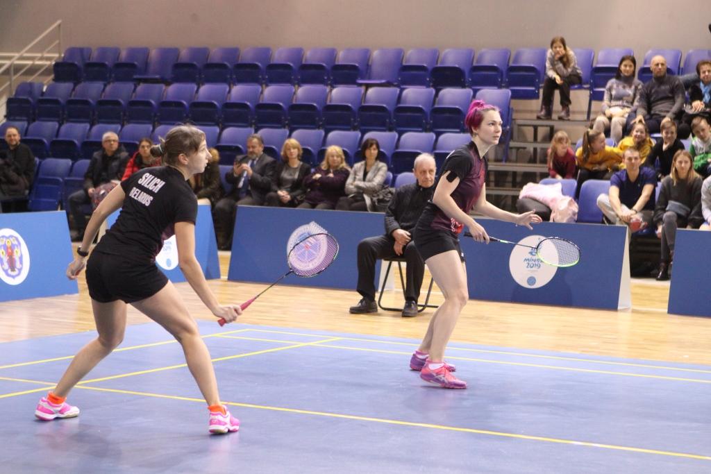 Чемпионат Беларуси по бадминтону (мужчины, женщины) день 5 — Финал
